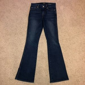 """🆕 7 For All Mankind """"A"""" Pocket High Waist Flare"""